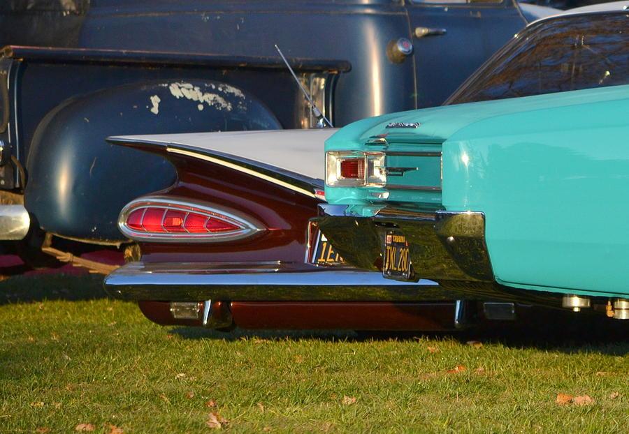 3-chevys Photograph by Dean Ferreira