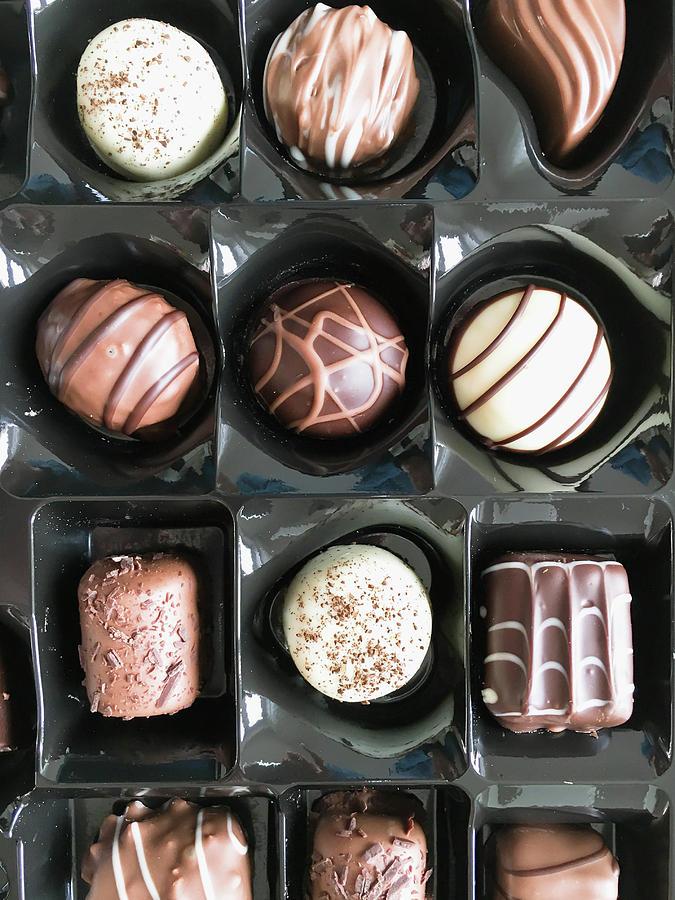 Appetizing Photograph - Chocolates by Tom Gowanlock
