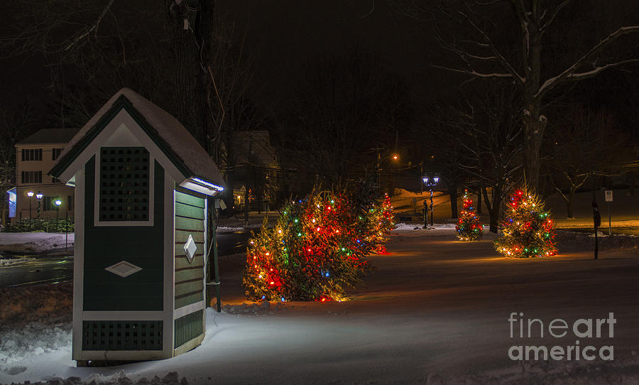 Christmas in New Milford by New England Photography