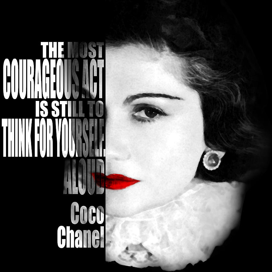 Coco Chanel Famous Quotes: Coco Chanel Motivational Inspirational Independent Quotes