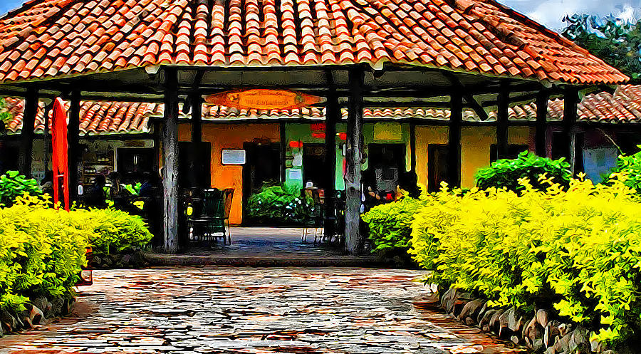 Colonial Photograph - Colonial House by Galeria Trompiz