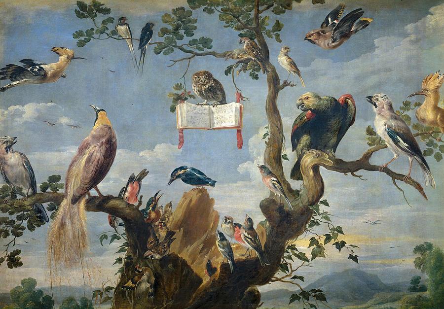 Pittura e scultura - Pagina 4 3-concert-of-birds-frans-snyders