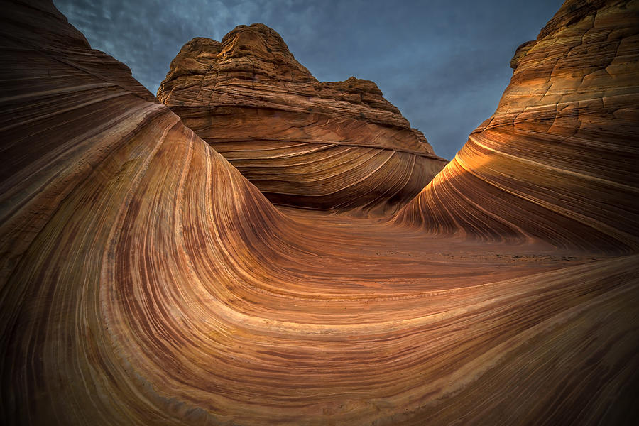 Utah Photograph - Coyote Buttes The Wave by Michael Just