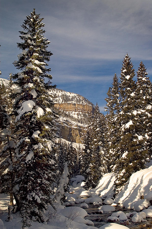Mountain Photograph - 3 Degrees And Counting by Alicia Frese Klenk