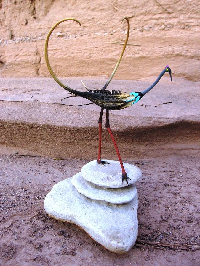 Devils Claw Sculpture - Devils Claw Bird Sculpture by Jeff Ross