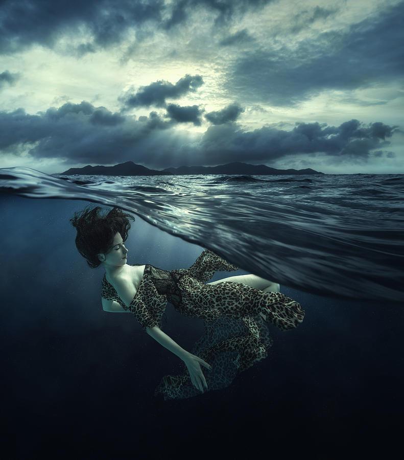 Girl Photograph - Dream by Dmitry Laudin
