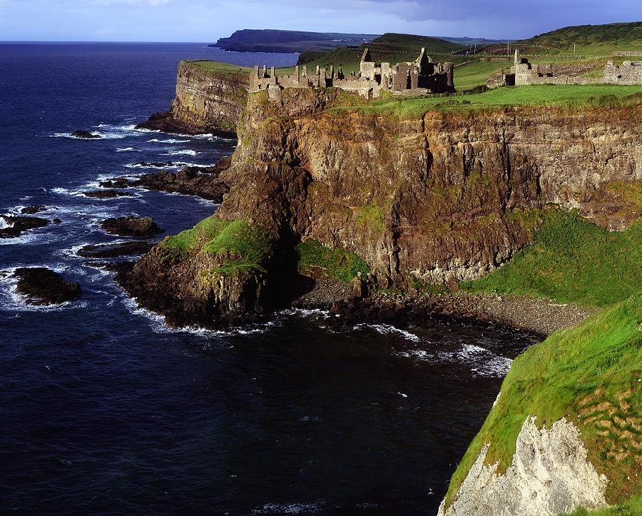 Landscape Photograph - Dunluce Castle, Co. Antrim, Ireland by The Irish Image Collection