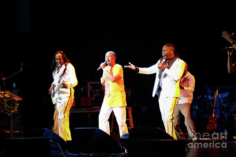 Ewf Photograph - Earth Wind And Fire by April Sims