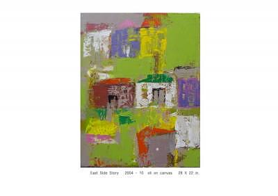 Childhood Story Painting - 3. East Side Story 2004-10 by Andy Kim