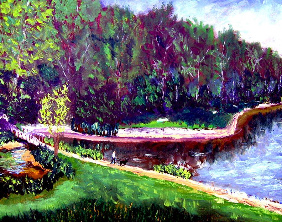 Plein Air Painting - Ecp 6 20 by Stan Hamilton