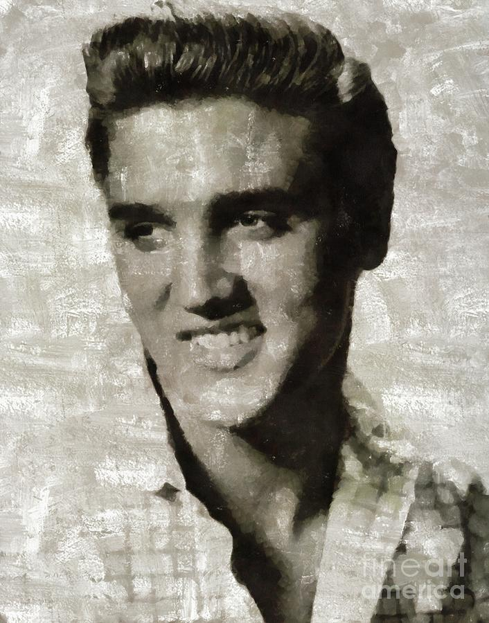 Elvis Presley, Legend Painting