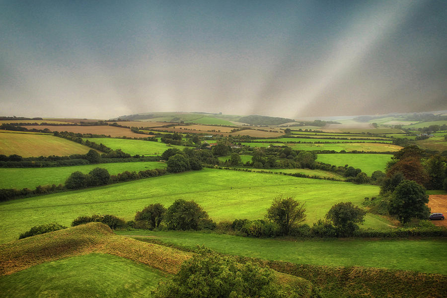 Countryside Photograph - English Countryside by Martin Newman