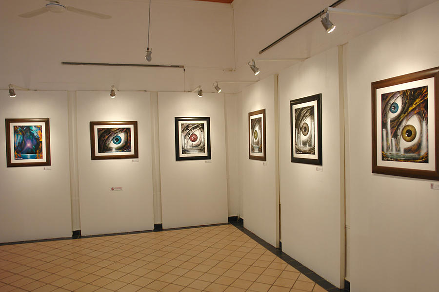 Exhibition Cozumel Museum Photograph by Angel Ortiz