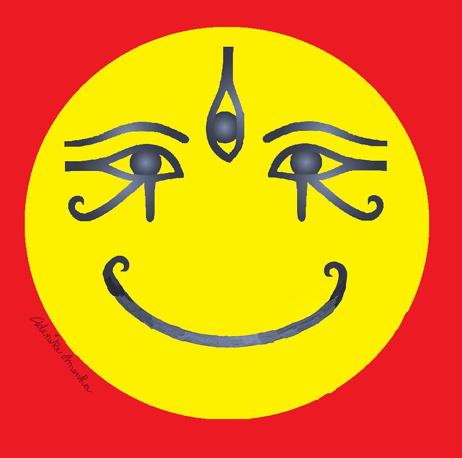 3 Eyes Smiling  by Adenike AmenRa