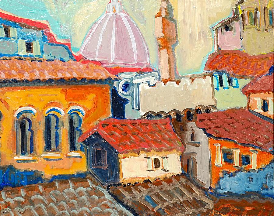 Italy Painting - Florence by Kurt Hausmann