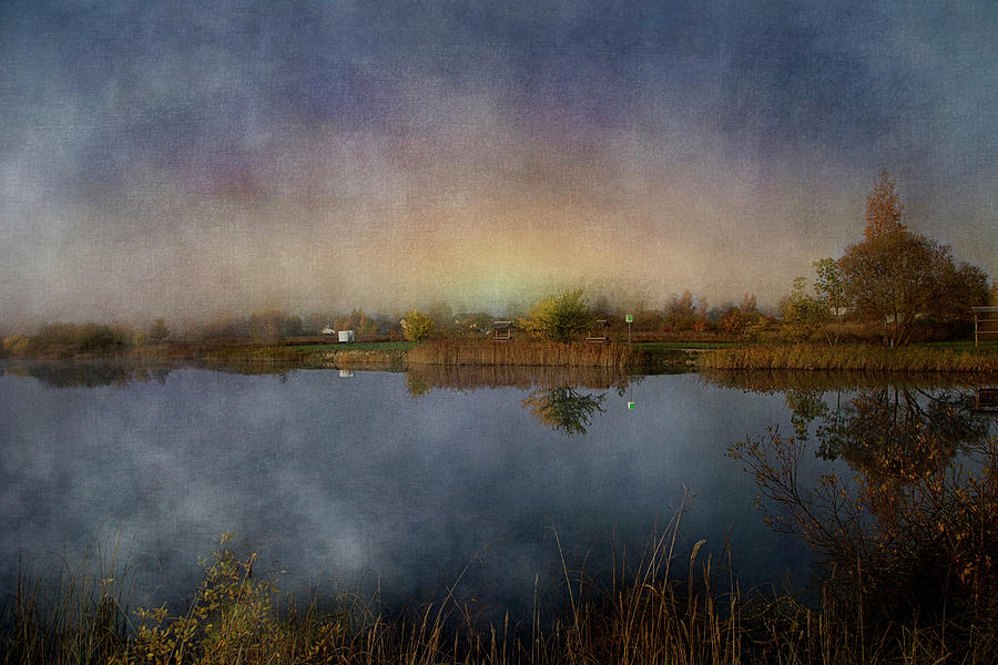 ...foggy Morning Mixed Media by Aleksandrs Drozdovs