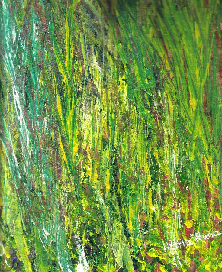 Foliage Painting - Foliage by Hema Rana