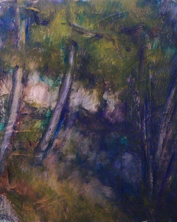 Landscape Painting - Forest by Jean pierre  Harixcalde
