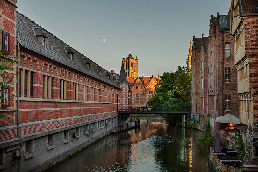 Ghent Photograph - Ghent by Hristo Shanov