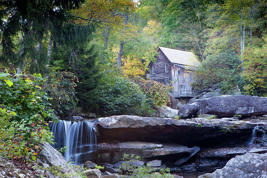 Glade Photograph - Glade Creek Grist Mill by John Daly