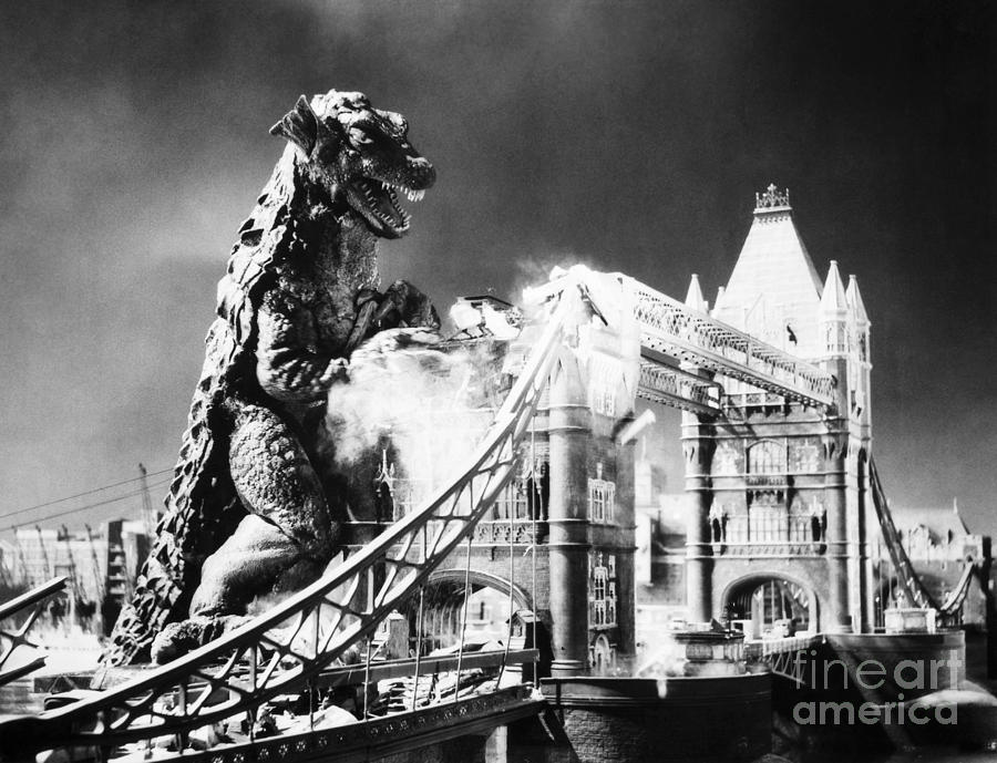 20th Century Photograph - Godzilla by Granger
