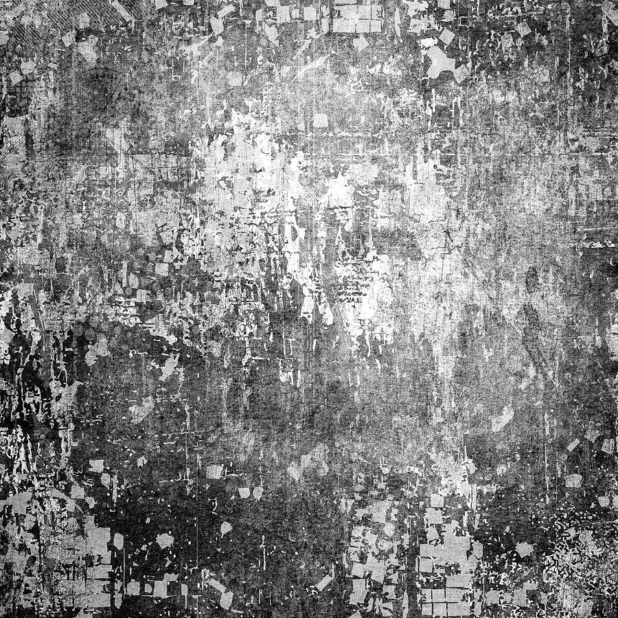 Grey designed grunge texture. Vintage background with ...