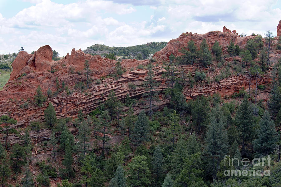Hiking The Mesa Trail In Red Rocks Canyon Colorado Photograph