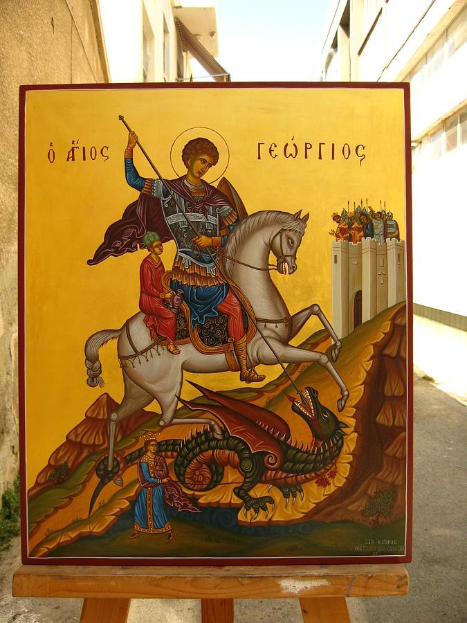 Icon Painting - Icon by Nataliya Pakhomova