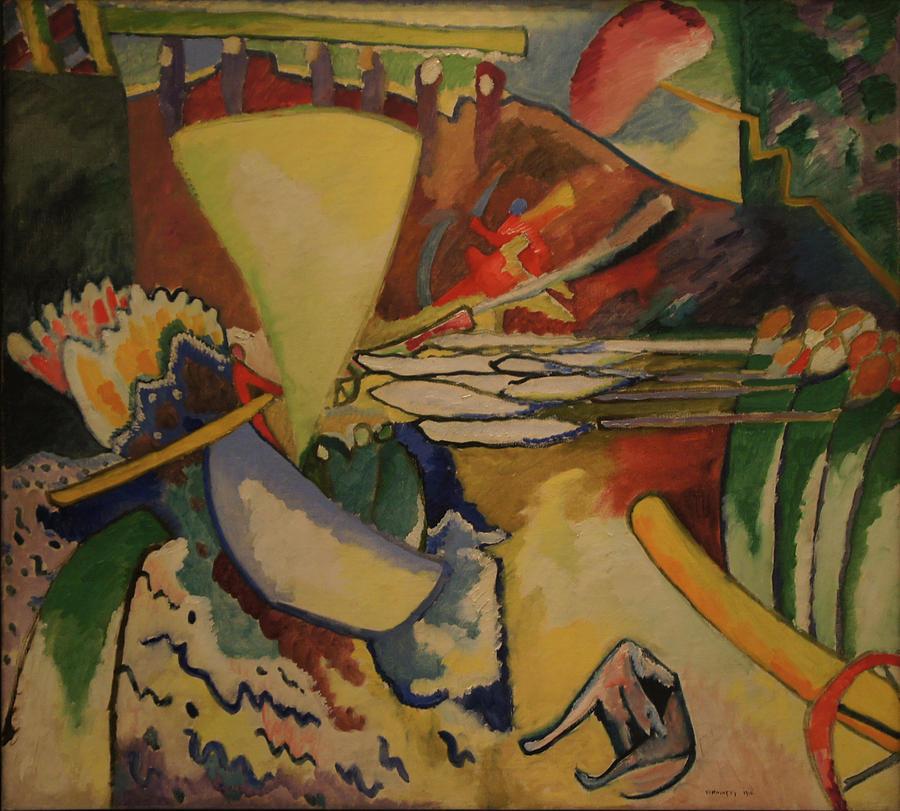 Wassily Kandinsky Painting - Improvisation by Wassily Kandinsky