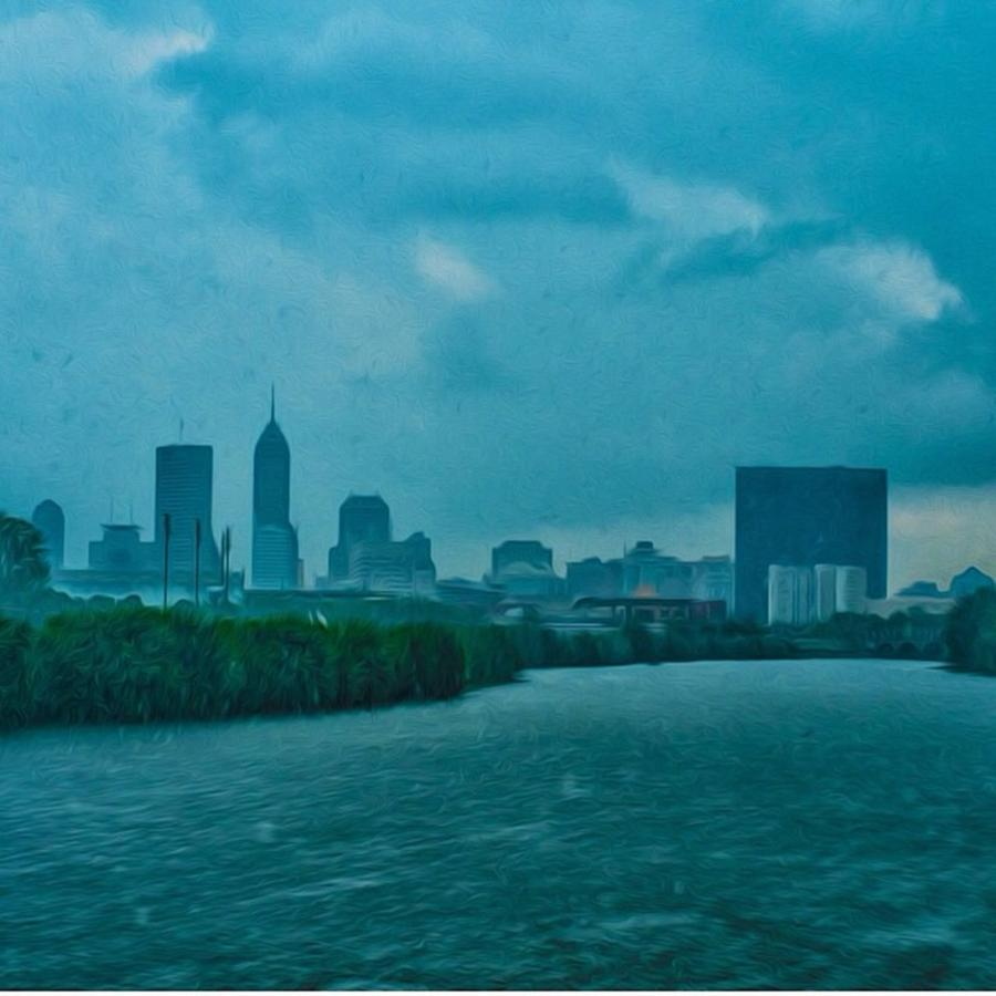 Indianapolis Photograph - #indy #indiana #indianapolis by David Haskett II