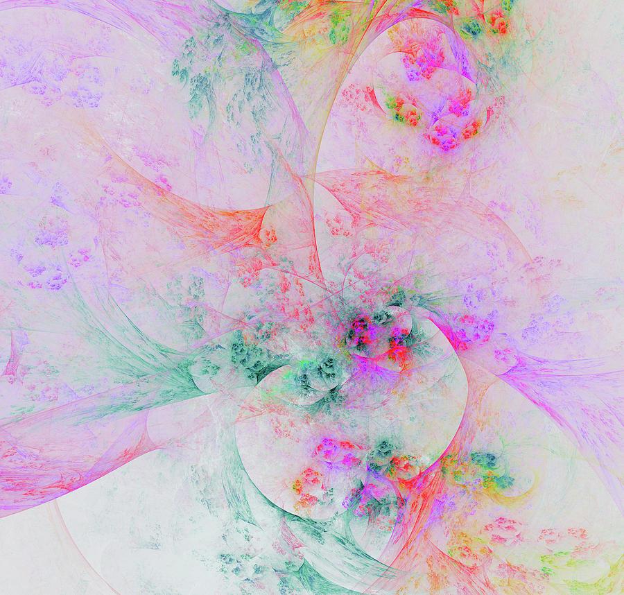 Fractal Digital Art - Inside Another World  by Mariia Kalinichenko