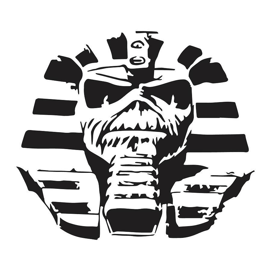 Iron Maiden Logo Stencil Wwwtopsimagescom