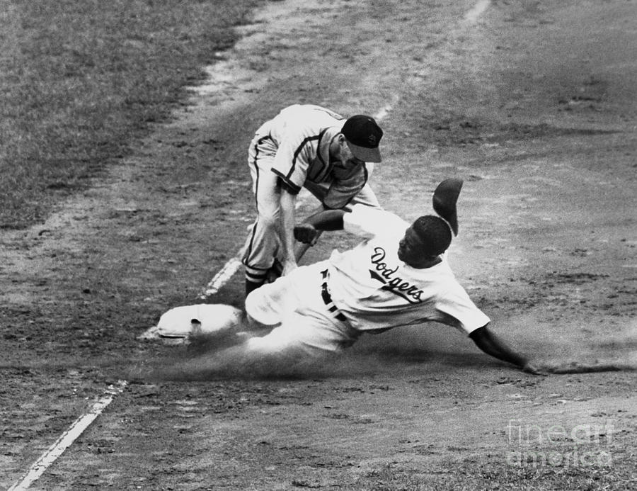 1949 Photograph - Jackie Robinson (1919-1972) by Granger