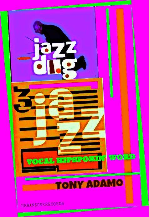 3 Jazz Internet Music Poster Digital Art by Tony Adamo