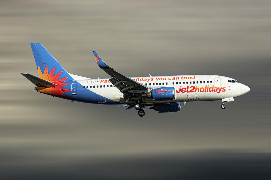 Jet2 Mixed Media - Jet2 Boeing 737-33v by Smart Aviation