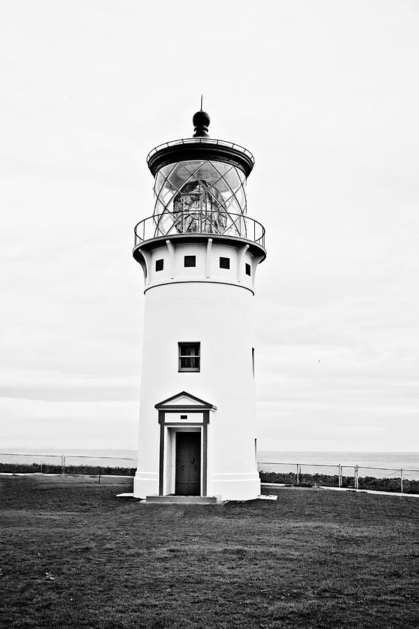 Kilauea Lighthouse Photograph - Kilauea Lighthouse by Scott Pellegrin