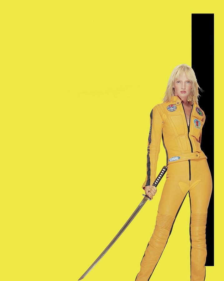 Kill Bill Vol 1 2003 Digital Art By Geek N Rock