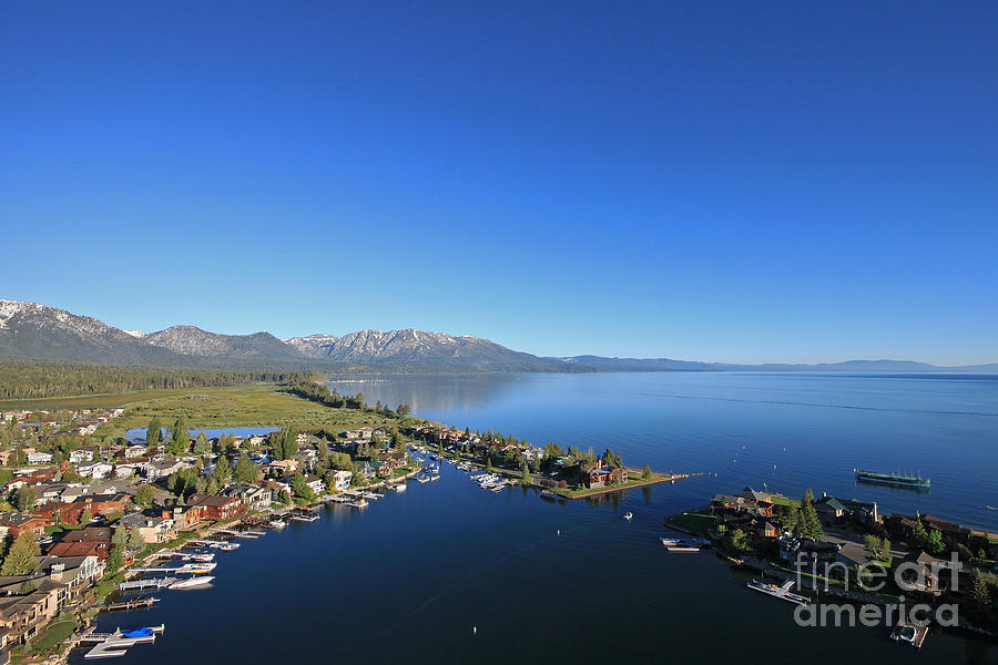 Lake Tahoe Photograph - Lake Tahoe by Shishir Sathe