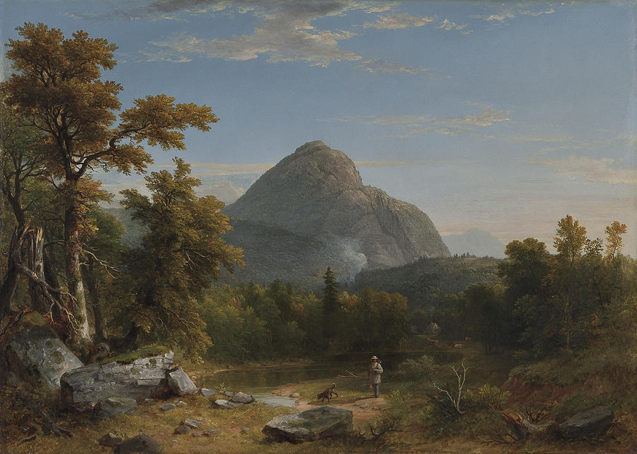 Landscape Painting - Landscape by Asher Brown