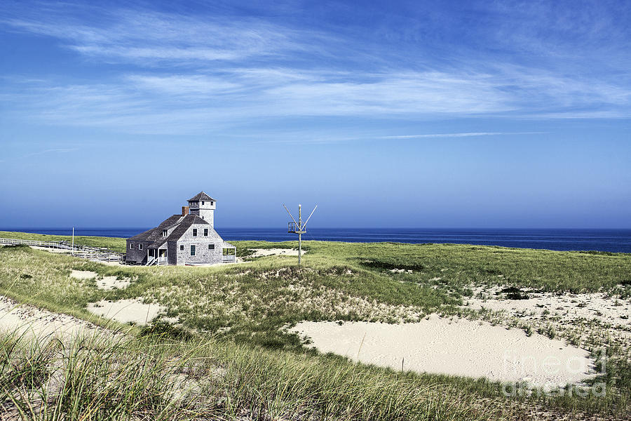 Beach Photograph - Life Saving Museum by John Greim