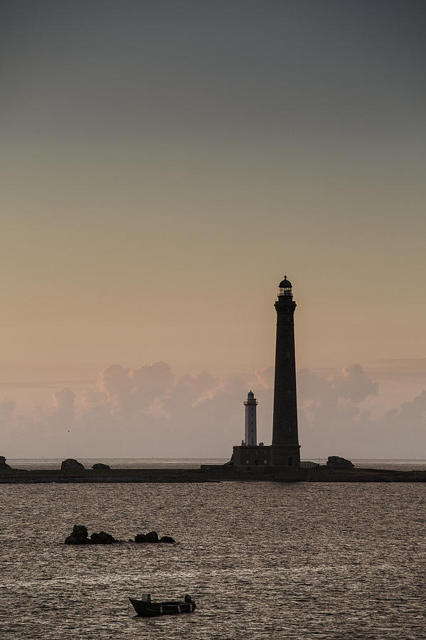 Harbor Photograph - Lighthouse by Nailia Schwarz