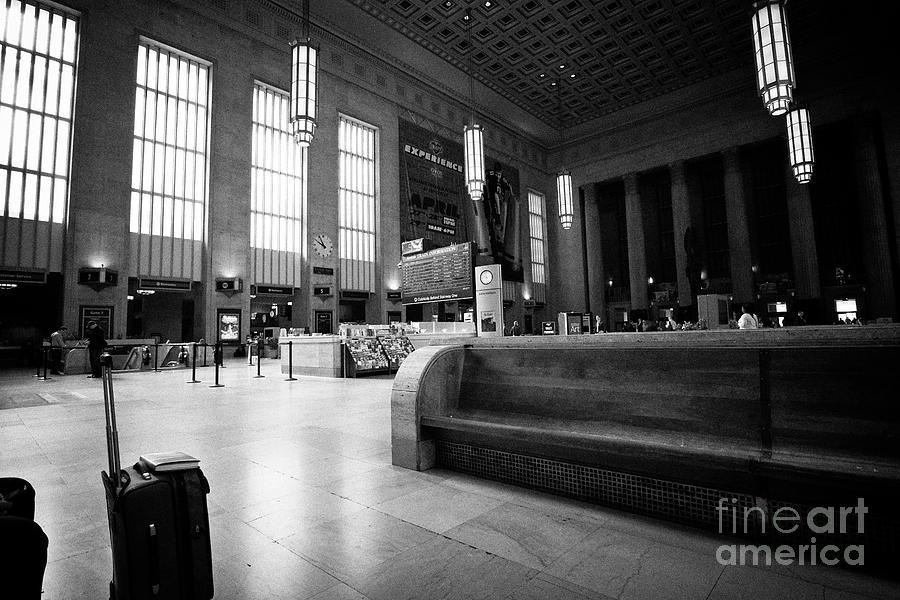 Long Wooden Benches In Main Waiting Room Inside Septa 30th Street Train Station Philadelphia Usa By Joe Fox