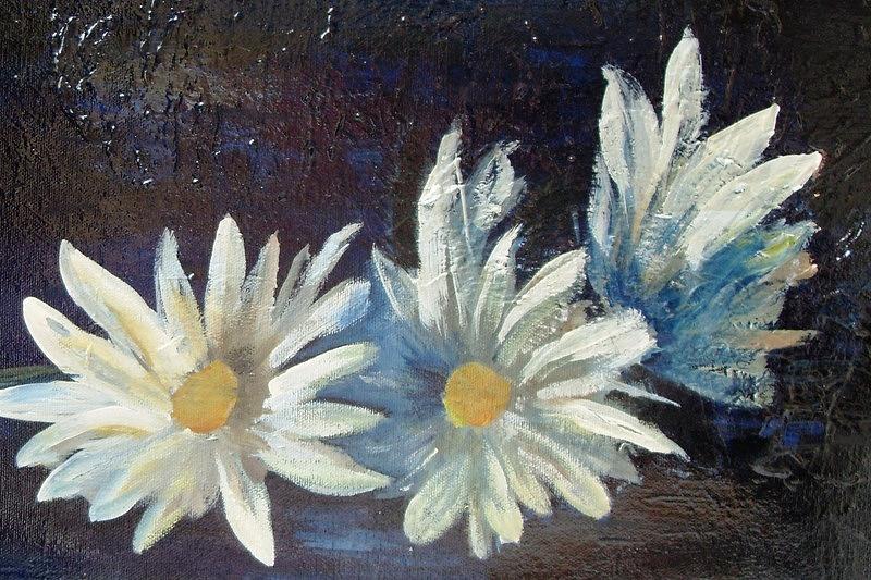 3 Margaritas Painting by Carol P Kingsley