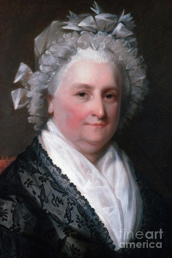 History Photograph - Martha Washington, American Patriot by Photo Researchers
