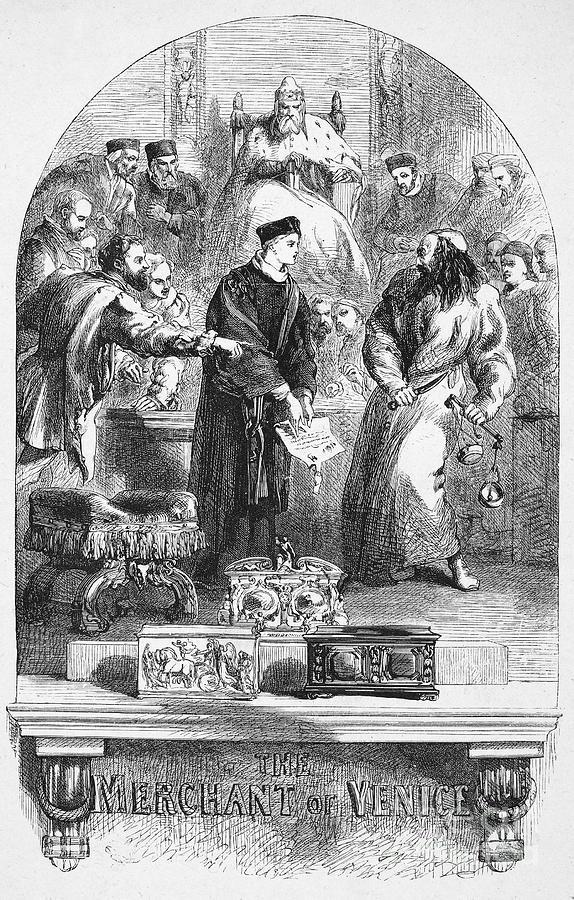 Elizabethan Photograph - Merchant Of Venice by Granger