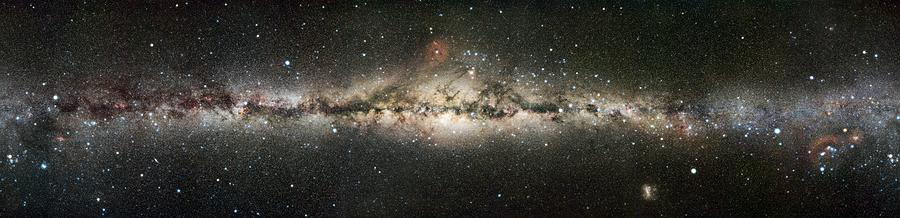Astrophysics Photograph - Milky Way by Eckhard Slawik