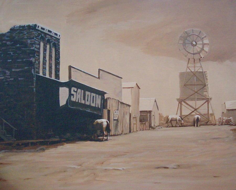 Mockup Painting by David  Larcom