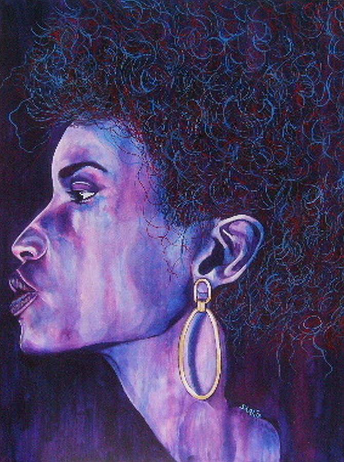 Painting Painting - Mood by Shahid Muqaddim