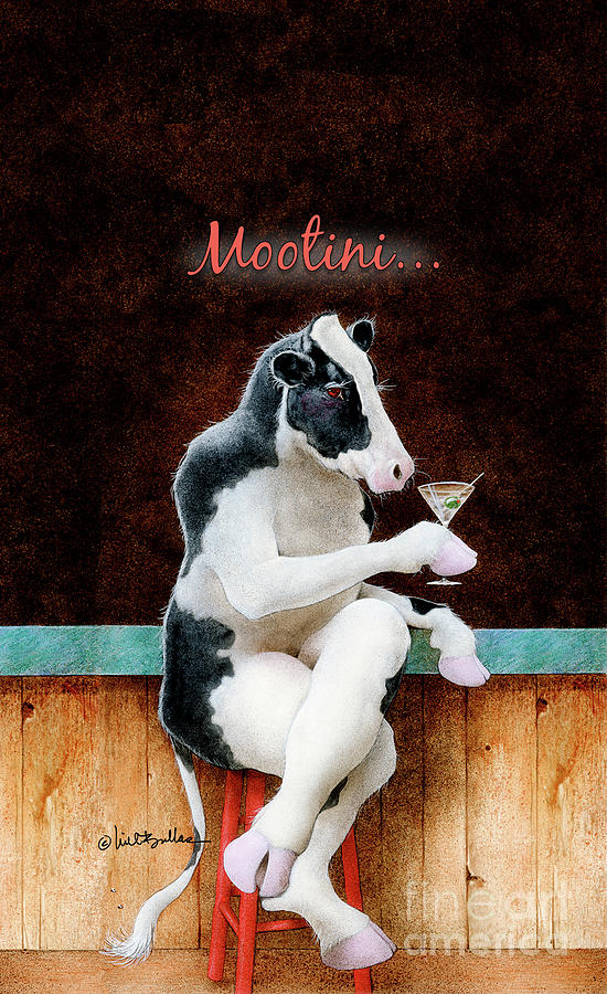 Will Bullas Painting - Mootini... by Will Bullas