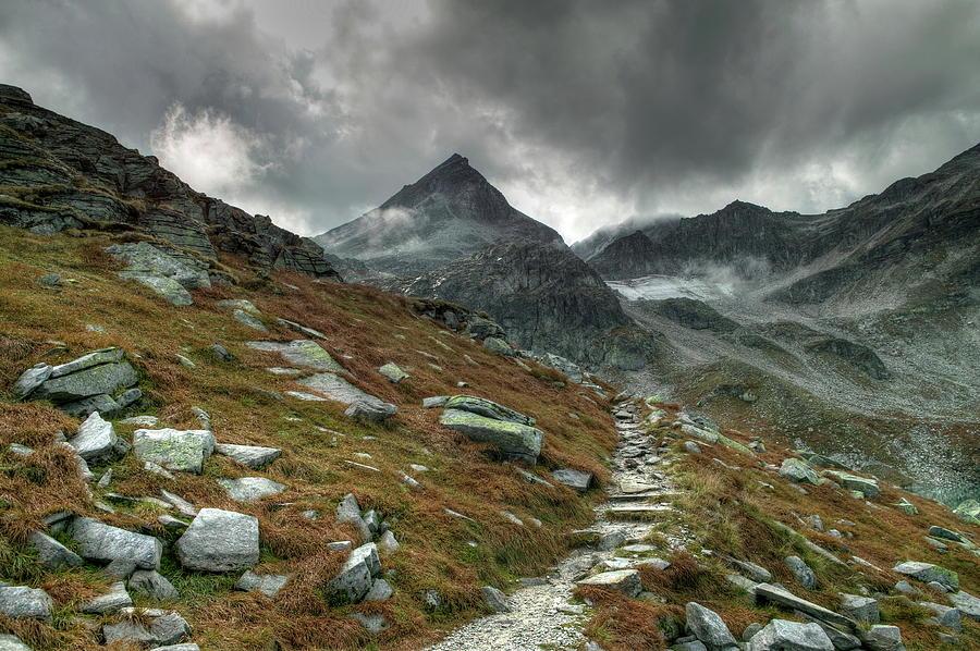 Mountain Digital Art - Mountain by Dorothy Binder